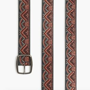 LUCKY BRAND Chevron Embroidered Belt.  SOLD OUT